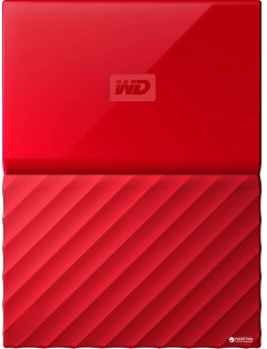 "Жесткий диск Western Digital My Passport 2TB WDBS4B0020BRD-WESN 2.5"" USB 3.0 External Red"