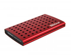 "Жесткий диск TrekStor DataStation Pocket Click 320GB TS25-320PCLR 2.5"" USB 3.0 External Red Refurbished"