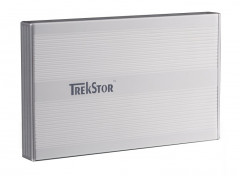 "Жесткий диск TrekStor DataStation Pocket x.u 320GB TS25-320PXUS 2.5"" USB 2.0 External Silver Refurbished"