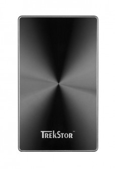 "Жесткий диск TrekStor DataStation Pocket q.ue 320GB TS25-320PQUEB 2.5"" USB 2.0 External Black Refurbished"