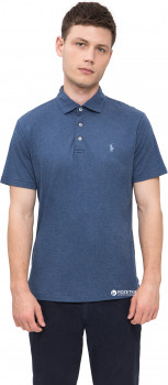 Поло Polo Ralph Lauren Scscmslmm4-Short Sleeve-Knit 710704318-003 M Синее (5045019683689)