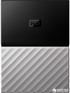 Жесткий диск Western Digital My Passport Ultra 2TB WDBTLG0020BGY-WESN 2.5 USB 3.0 External Black-Grey