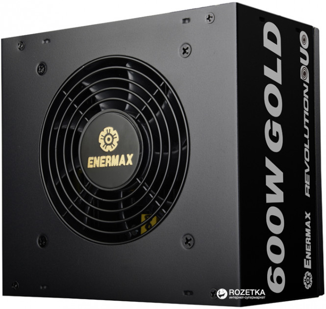 Enermax Revolution Duo 600 W 80 Plus Gold (ERD600AWL-F)