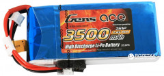 Аккумулятор Gens Ace 3500 mAh 7.4V RX 2S1P Lipo Battery Pack / RX/TX (B-RX-3500-2S1P)