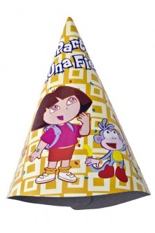 Колпачки Party Time Dora The Explorer