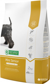 Сухой корм для собак мелких пород Nature's Protection Mini Senior 2 кг (4771317244253)