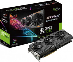 GeForce GTX1080 8192Mb Asus DirectCU III ROG Strix Gaming (STRIX-GTX1080-8G-GAMING)