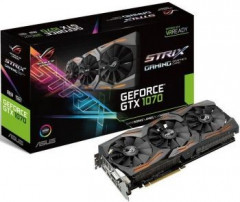 GeForce GTX1070 8192Mb Asus DirectCU III ROG Strix Gaming (STRIX-GTX1070-8G-GAMING)