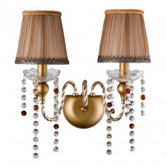 Бра Crystal Lux Alegria AP2 Gold-Brown 51698-01