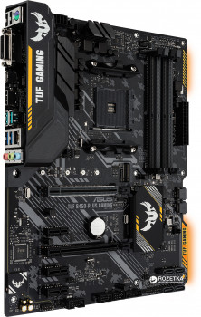 Материнська плата Asus TUF B450-Plus Gaming (sAM4, AMD B450, PCI-Ex16)