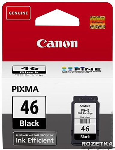 Картридж Canon PG-46 PIXMA Ink Efficiency Black 2019