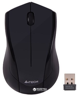 Мышь A4Tech G3-400N Wireless Black (4711421933711) - изображение 1