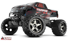 Автомобиль Traxxas Stampede Brushless Monster 1:10 ARTR 500 мм 4WD TSM 2,4 ГГц (67086-4 Black)