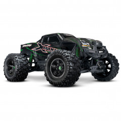Автомобиль Traxxas X-Maxx Brushless Monster 8S 1:5 RTR 779 мм 4WD TSM 2,4 ГГц (77086-4 Green)