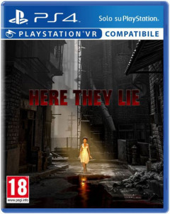 Here They Lie VR PS4 русская версия