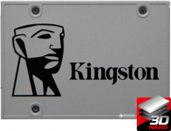 "Kingston SSD Upgrade Kit UV500 960GB 2.5"" SATAIII 3D NAND TLC (SUV500B/960G)"
