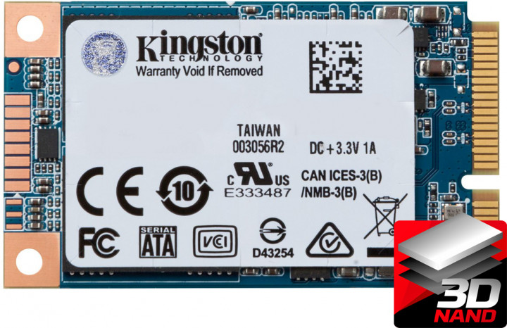 Kingston SSD UV500 240GB mSATA SATAIII 3D NAND TLC (SUV500MS/240G) - изображение 1