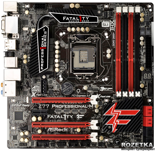 ASRock Fatal1ty Z77 Performance Intel Graphics 64Bit