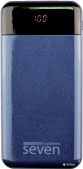 УМБ SEVEN P7 10000 mAh Lightning Type-C Dark Blue (SP7db)