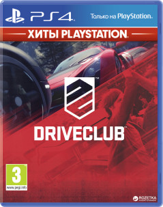 DriveClub - Хиты PlayStation (PS4, русская версия)