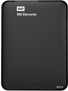 Жесткий диск Western Digital Elements Portable 750GB WDBUZG7500ABK-WESN 2.5 USB 3.0 External Black