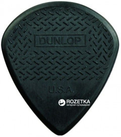 Медиаторы Dunlop 471P3C Max Grip Jazz III Carbon Player's Pack 6 шт.