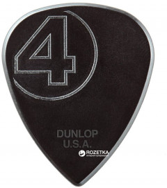 Медиаторы Dunlop 447PJR1.38 Jim Root Signature Nylon Pick 1.38 мм 6 шт.