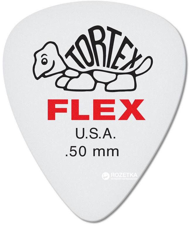 Медиаторы Dunlop 428P.50 Tortex Flex Standard Player's Pack 0.5 мм 12 шт.