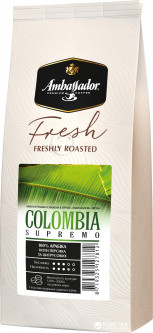 Кофе в зернах Ambassador Fresh Colombia Supremo 1 кг (8719325127812)