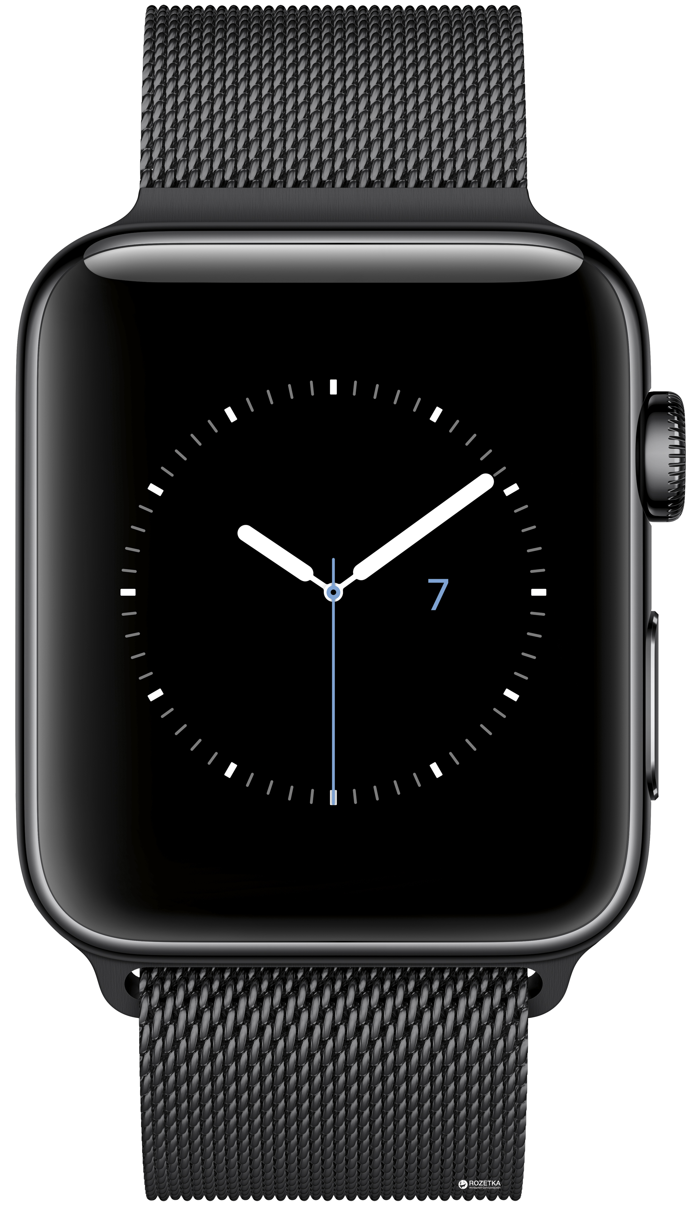 space black stainless steel watch - HD2235×3875