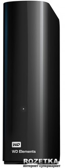 "Жесткий диск Western Digital Elements Desktop 3TB WDBWLG0030HBK-EESN 3.5"" USB 3.0"