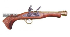 Макет пистолета Flintlock blunderbuss, 18 век, Denix (01/1110L)
