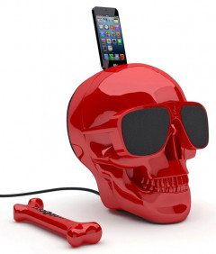 Мультимедийная акустика Jarre Technologies AeroSkull HD+ Glossy Red