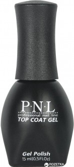 Верхнее покрытие для гель-лака P.N.L. 511 Top Coat Gel 15 мл (4823083012144)