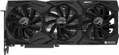 Asus PCI-Ex GeForce RTX 2080 ROG Strix OC 8GB GDDR6 (256bit) (1515/14000) (2 x HDMI, 2 x DisplayPort, 1 x USB Type-C) (ROG-STRIX-RTX2080-O8G-GAMING)