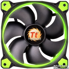 Кулер Thermaltake Riing 14 Green LED (CL-F039-PL14GR-A)