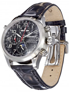 Часы Ingersoll IN6110BK Cook Automatik Chrono 44mm 5ATM