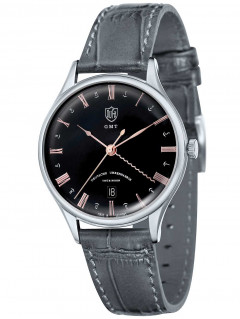 Часы DuFa DF-9006-08 Weimar GMT 38mm 3ATM