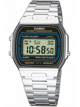 Годинник CASIO A164WA-1VES Collection 35mm 3ATM