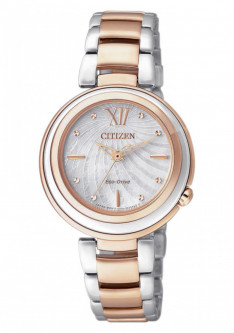 Часы Citizen EM0335-51D Eco-Drive Elegant Damen 30mm 5ATM