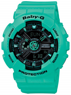 Часы CASIO BA-111-3AER Baby-G 43mm 10ATM
