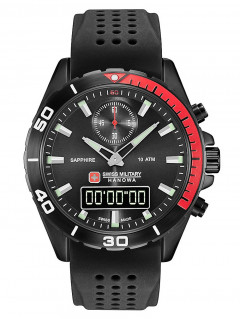 Часы Swiss Military Hanowa 06-4298.3.13.007 Multimission Herren 44mm 10ATM