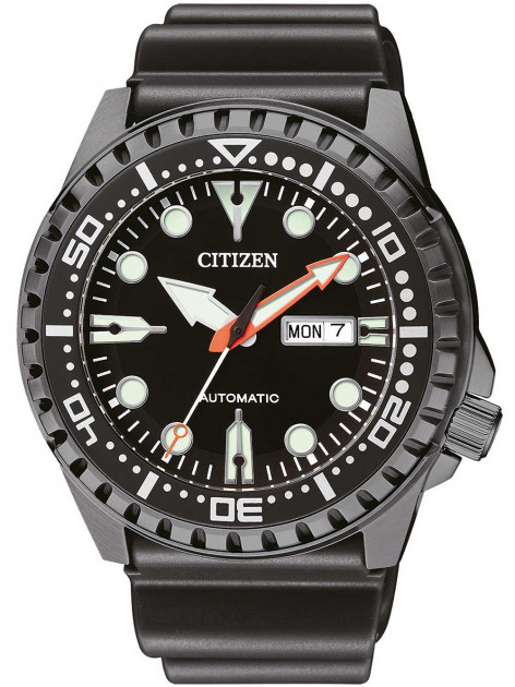 Часы Citizen NH8385-11EE Day-Date Automatik 46mm 10ATM