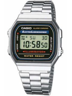 Часы CASIO A168WA-1YES Collection 35mm 3ATM