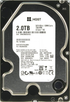 Жесткий диск Hitachi 2000GB Ultrastar 7K2 (1W10002)