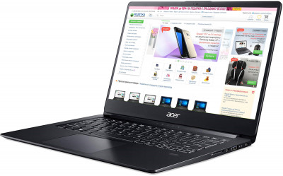 Ноутбук Acer Swift 1 SF114-32 (NX.H1YEU.012) Obsidian Black