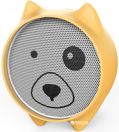 Портативная колонка Baseus Dogz Wireless Speaker E06 Yellow (NG-0631)