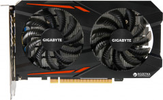Gigabyte PCI-Ex GeForce GTX 1050 OC 3GB GDDR5 (96bit) (1417/7008) (DVI, HDMI, DisplayPort) (GV-N1050OC-3GD)