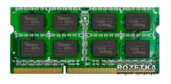 Оперативная память Team SODIMM DDR3-1333 2048MB PC3-10660 Elite (TED32G1333C9-S01)