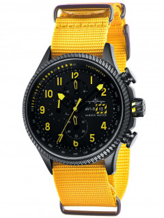 Часы AVI-8 AV-4036-01 Hawker Hunter Chrono 45mm 5ATM